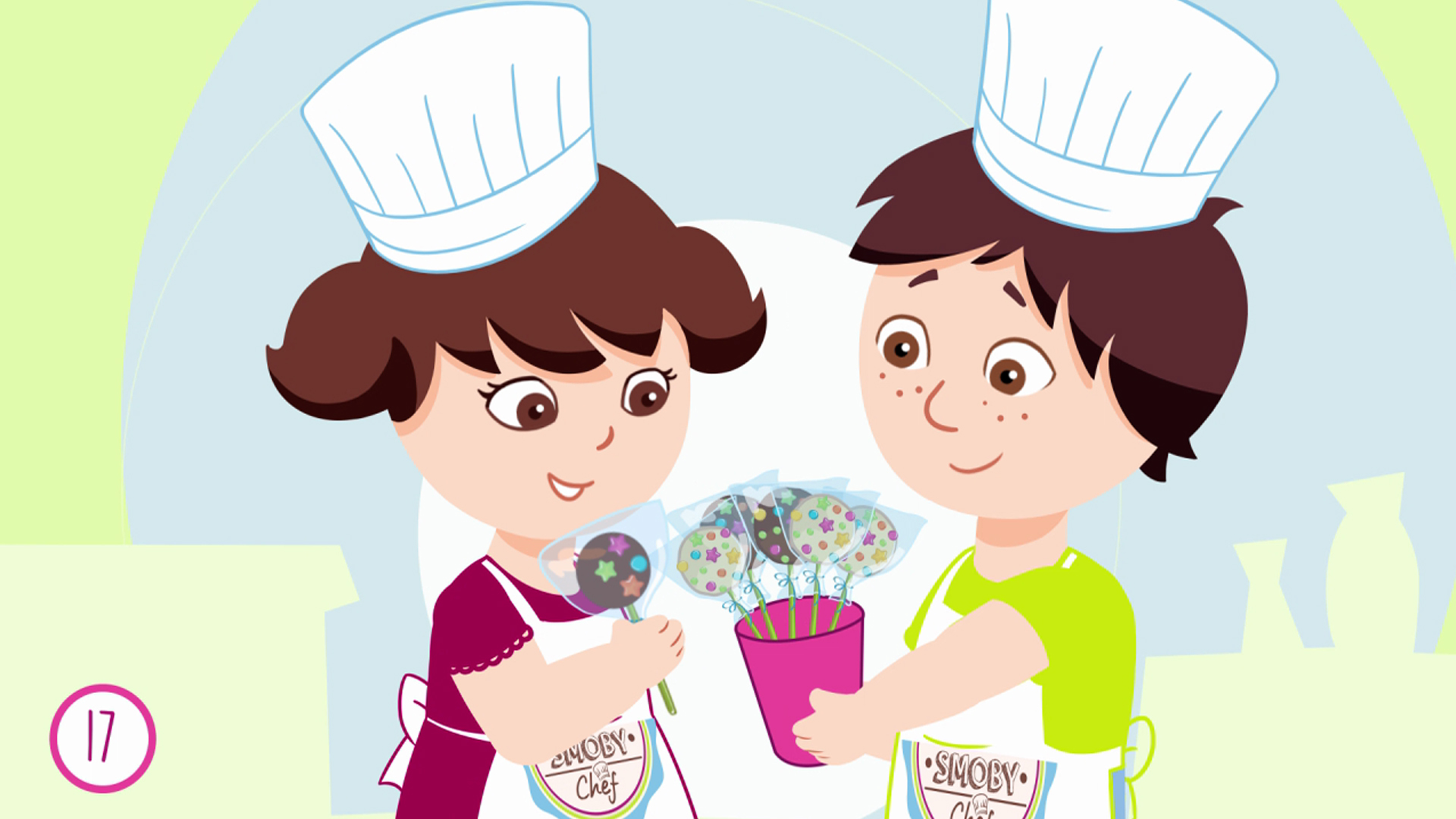 Smoby Chef - Recette Cake Pops Factory