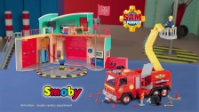 Sam le Pompier nouvelle caserne