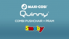QUINNY GREY COMBI PUSHCHAIR